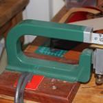Paring machine for leatherwork