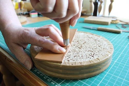 Intensive Leatherwork Course - Piercing on the Block