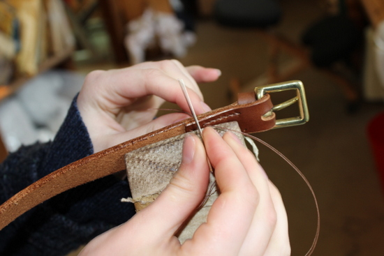 Leather work course - open