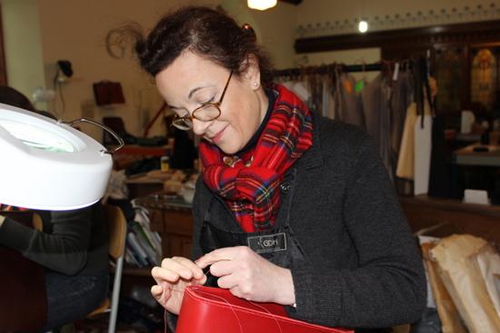 Traditional leatherwork skills