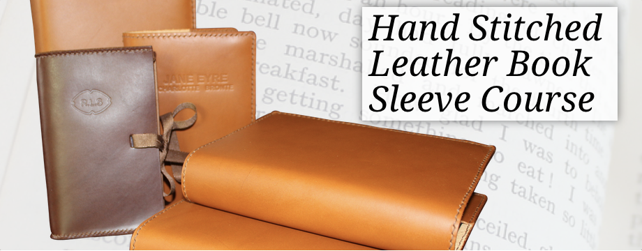 Leather Book Sleeve Course