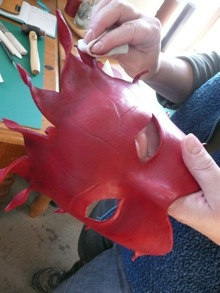 Leather Mask Making with GDH Leather Courses
